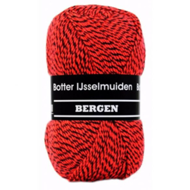 Botter IJsselmuiden Bergen Rood, Zwart - 160