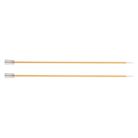 KnitPro Zing Breinaalden met knop 40cm 2.25 mm