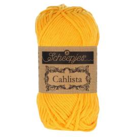 Scheepjes Cahlista 208 Yellow Gold