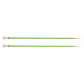 KnitPro Zing Breinaalden met knop 40cm 3.50 mm