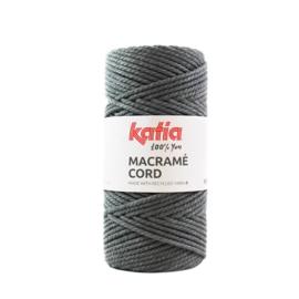 Katia Macramé Cord 103 Donkergrijs