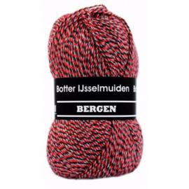 Botter IJsselmuiden Bergen Rood, Zwart, Grijs - 034