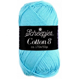 Cotton 8 622 Blauw
