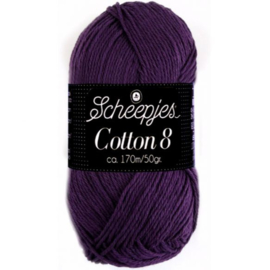 Scheepjes Cotton 8 721 Paars