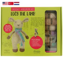 Lucy the Lamb Tuva haakpakket amigurumi