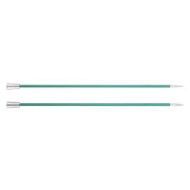 KnitPro Zing Breinaalden met knop 40cm 3.25 mm