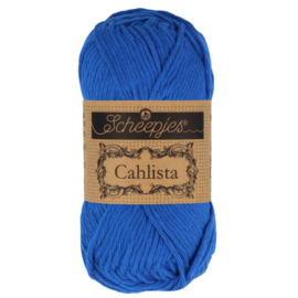 Scheepjes Cahlista 201 Electric Blue