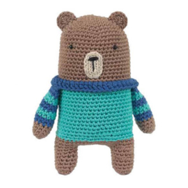 Boris the Bear Tuva haakpakket amigurumi