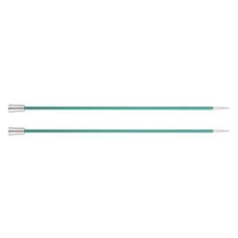 KnitPro Zing Breinaalden met knop 40cm 8.00 mm