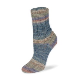 Rellana Flotte Socke 4f. Baumwolle + Merino Stretch - 1555