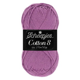 Scheepjes Cotton 8 726 Paars