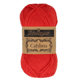 Scheepjes Cahlista  115 Hot Red