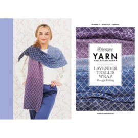 YARN The After Party nr.71 - Lavender Trellis Wrap