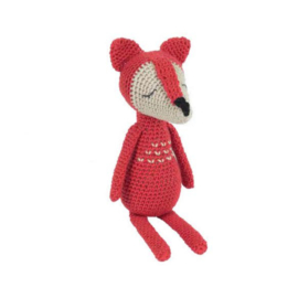 James the Fox Tuva haakpakket amigurumi
