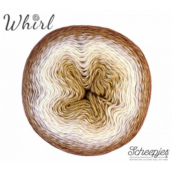 Scheepjes Whirl 756 Caramel Core Blimey