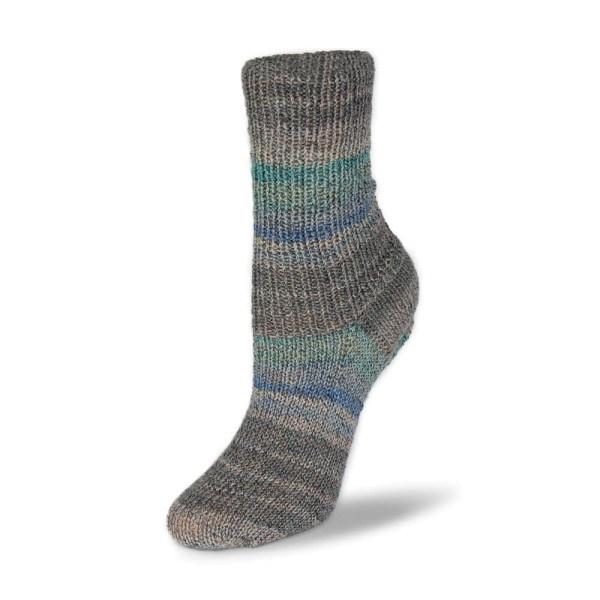 Rellana Flotte Socke 4f. Baumwolle + Merino Stretch - 1551