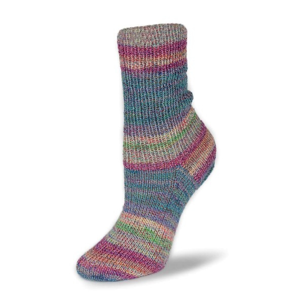 Rellana Flotte Socke 4f. Baumwolle + Merino Stretch - 1553