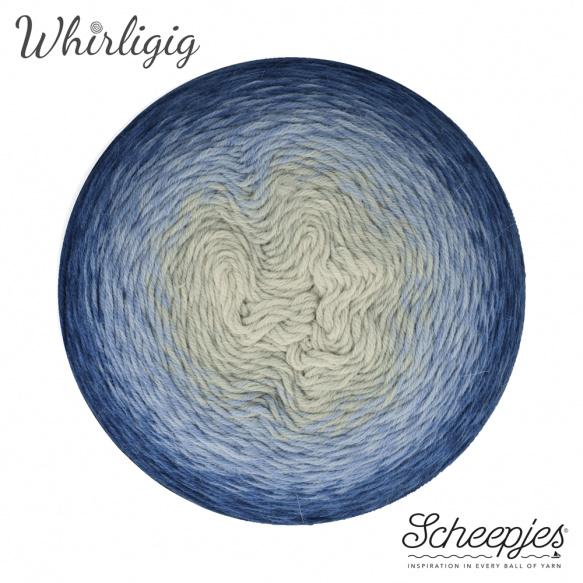 Scheepjes Whirligig Sapphire to Blue-212