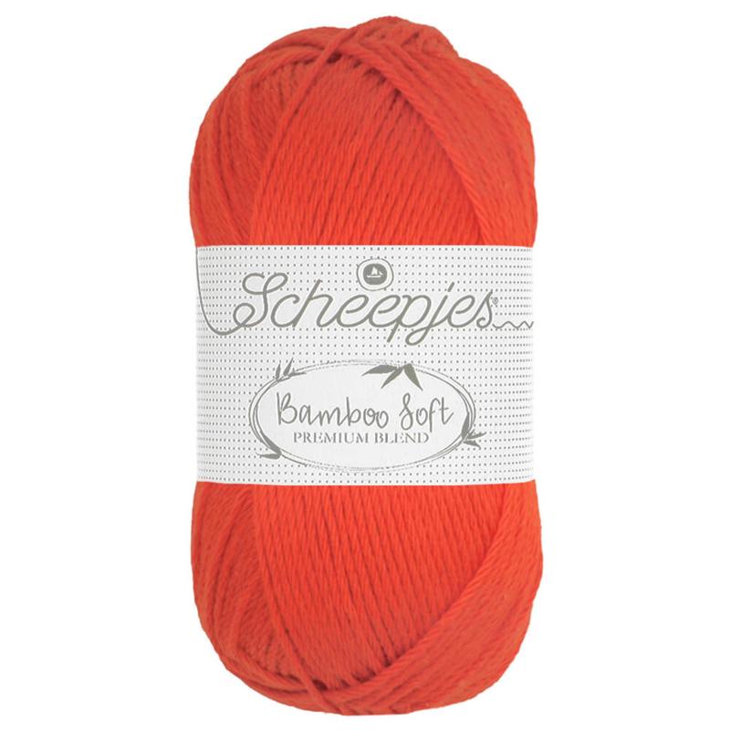 Scheepjes Bamboo Soft - 261 Regal Orange