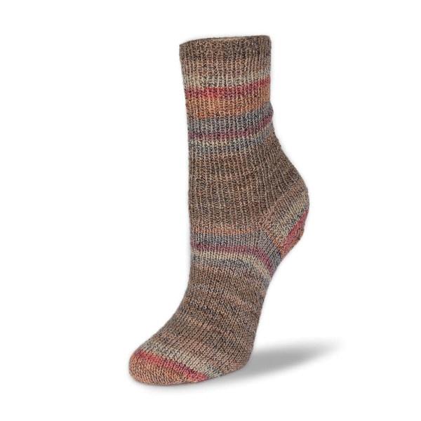 Rellana Flotte Socke 4f. Baumwolle + Merino Stretch - 1552