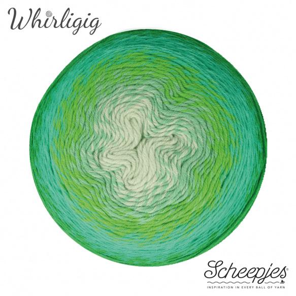 Scheepjes Whirligig Green to Blue-207