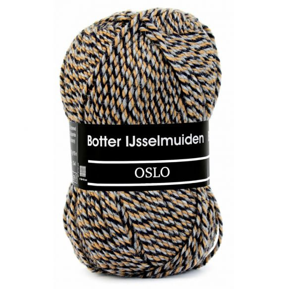 Botter IJsselmuiden Oslo Zwart, Grijs, Beige - 073