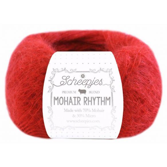 Scheepjes Mohair Rhythm 684 Flamenco