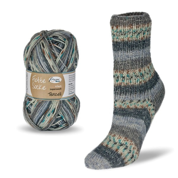 Rellana - Flotte Socke Tencel - 1590