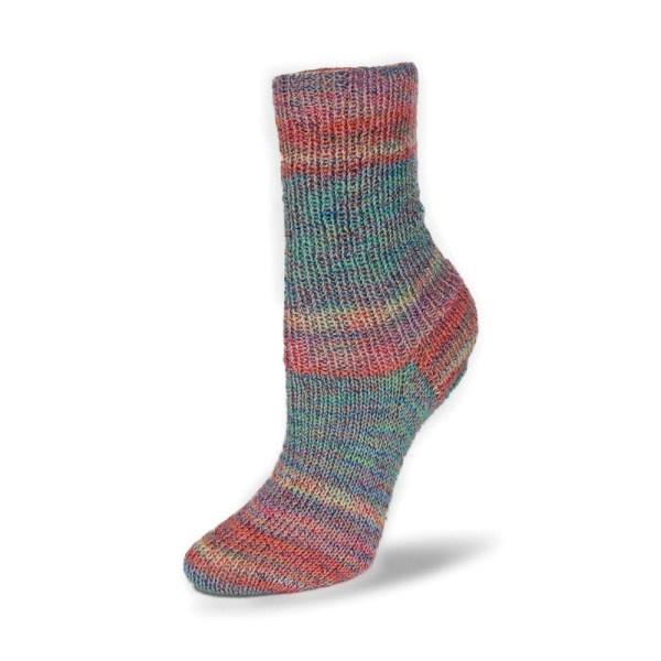 Rellana Flotte Socke 4f. Baumwolle + Merino Stretch - 1554