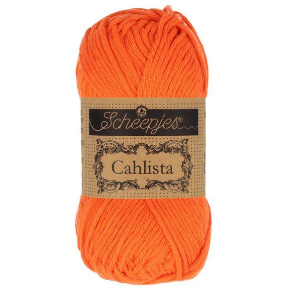 Scheepjes Cahlista 189 Royal Orange