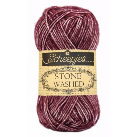 Scheepjes Stonewashed 810 Garnet