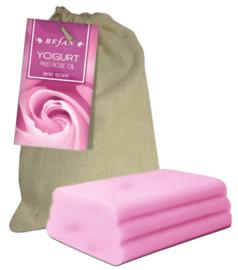 Yogur y aceite de rosa Bar soap yogur y aceite de rosa