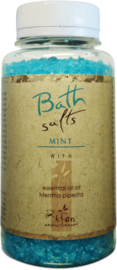 Bath salts with essential oil of mint 250g Refan
