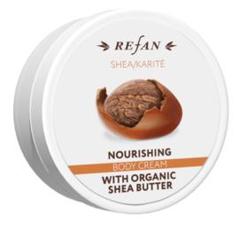 Shea/Karité Crema corporal nutritiva 200ml Refan