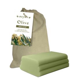 Jabón a corte de Oliva
