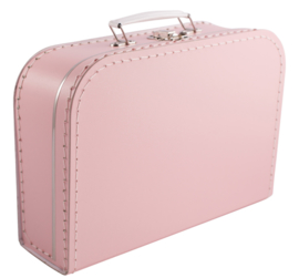 Koffertje lichtroze 25cm