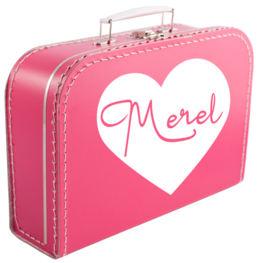 Koffertje bedrukt naar wens