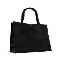 Vilten tas groot, zwart, antraciet of grijs blanco