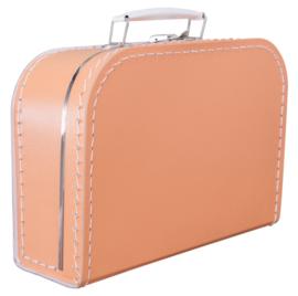 Koffertje Licht oranje 25 cm