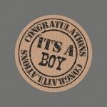 Cadeau-etiket It's a Boy set 25 stuks