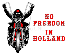 No Freedom in Holland...