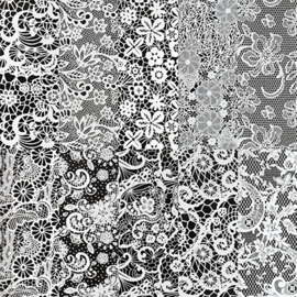 Halo Create - Foil - White Lace