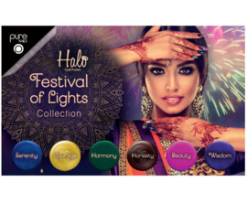 Halo Gel Polish Festival of Lights  collection - 5 + 1 gratis