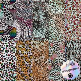 Halo Create - Foil - Laser Leopard Print