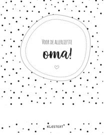 Oma | bewaarbundel | zwart-wit