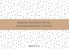 XXL bewaarbundel | tekeningen en knutsels | roze | A3 formaat