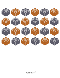 Lego | bouwinstructies | XL bundel | blauw