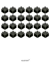 Lego | bouwinstructies | XL bundel | zwart