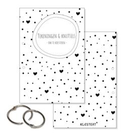 Tekeningen- en knutselbundel | zwart-wit