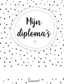 Diploma | bewaarbundel | zwart-wit